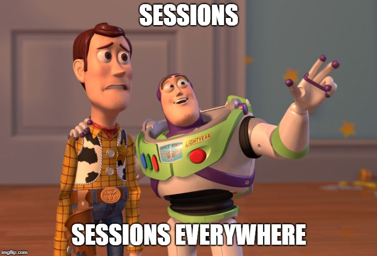 Sessions - Sessions everywhere